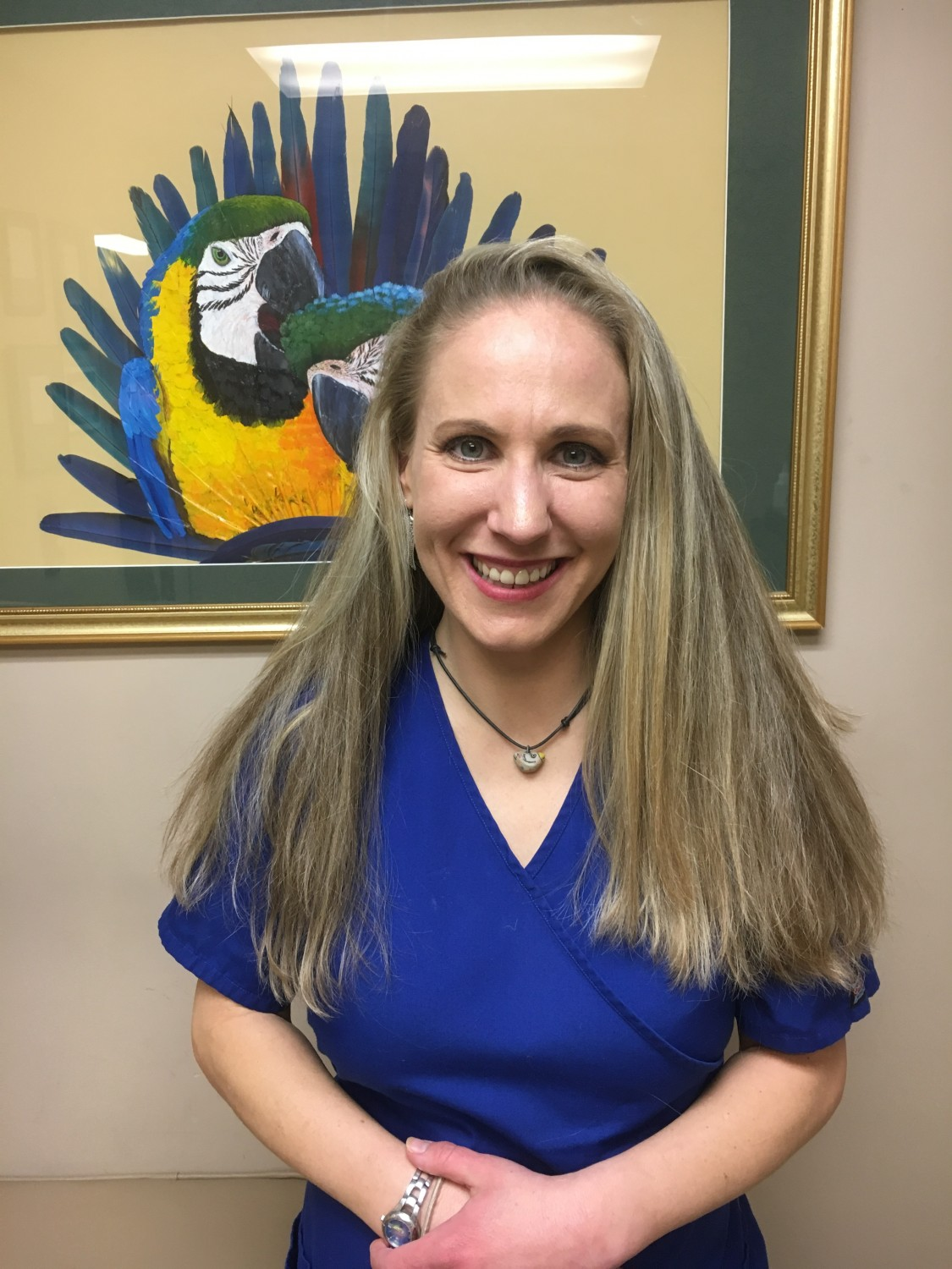 Julie Dinsdale, Technician - Medical Center For Birds