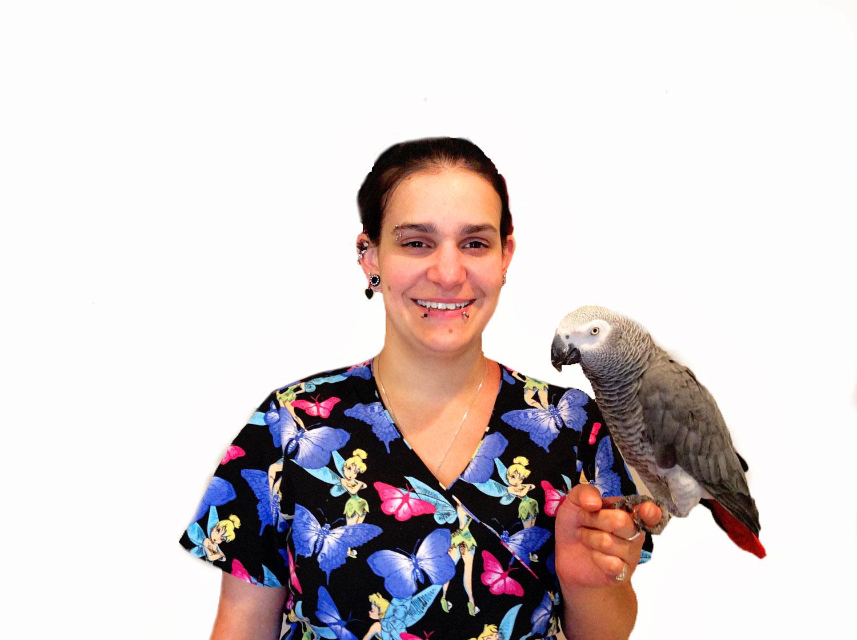 Medical Center For Birds Oakley California - Sara Hawkins, RVT